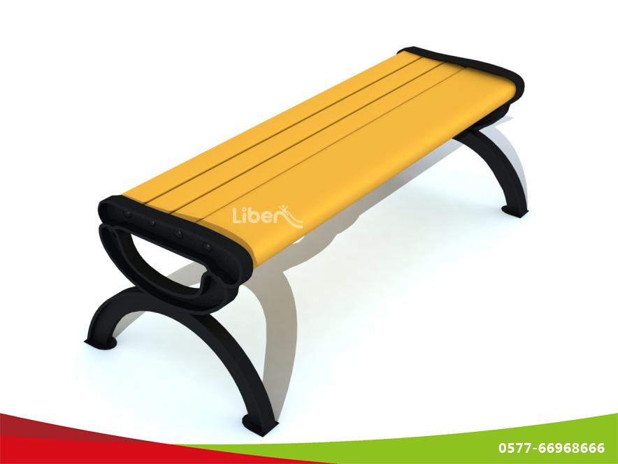 新款平凳木制休闲椅 供应公园长椅 景区公共椅子 小区