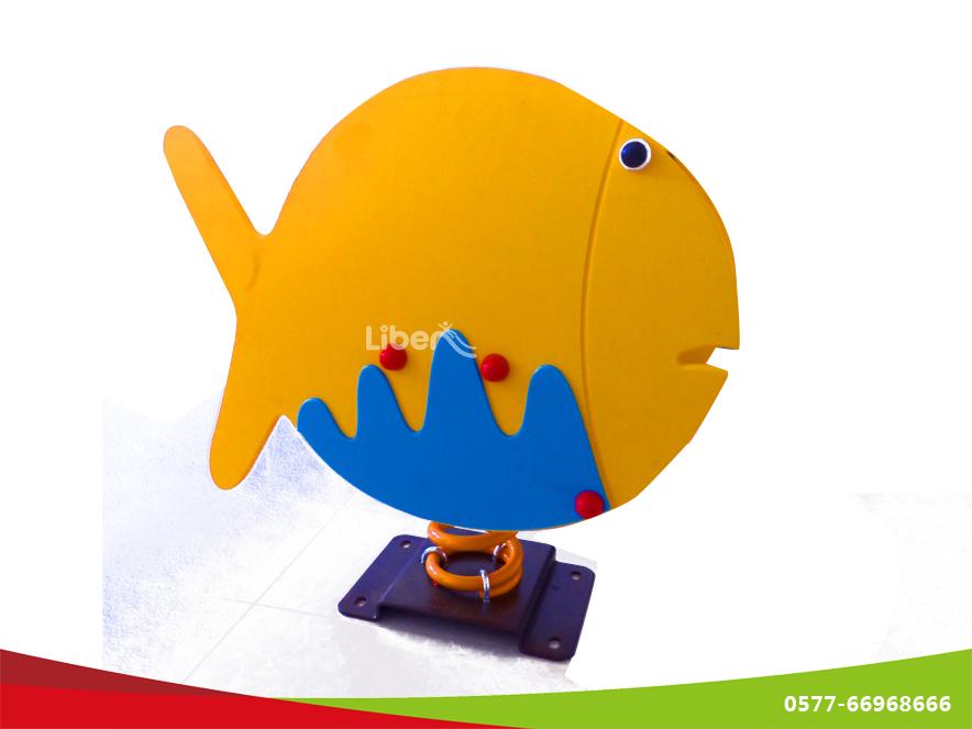 鱼造型弹簧摇马图片